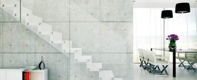 Aira - una delle scale a giorno vendute da Rintal Scale Milano